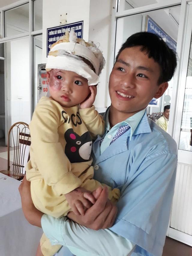 Bố con bé Kê. ảnh PT
