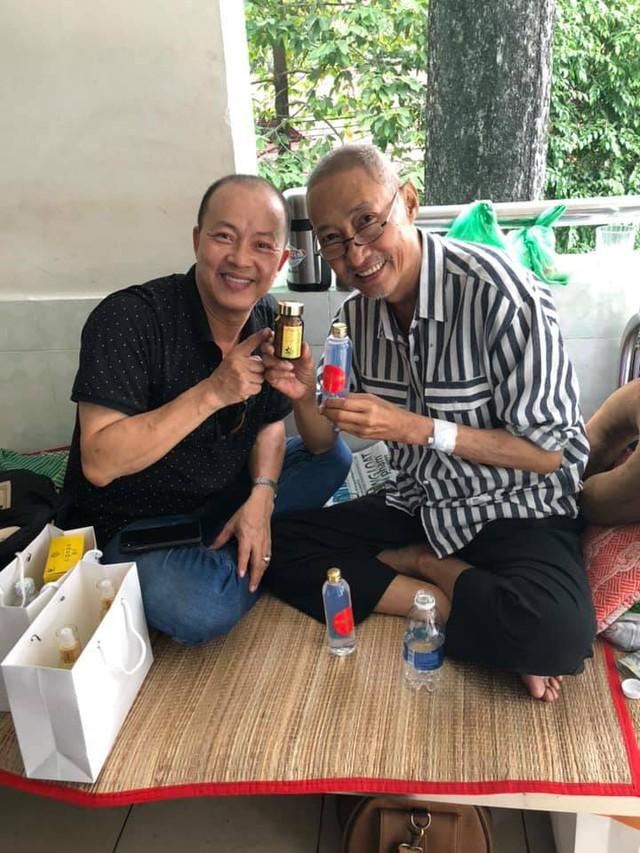Nghệ sĩ Đức Hải và nghệ sĩ Lê Bình