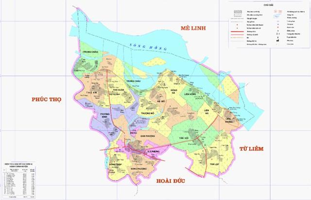 Đường ống nước sẽ đi từ Liên Hồng qua 3 xã và đến Bắc Từ Liêm.