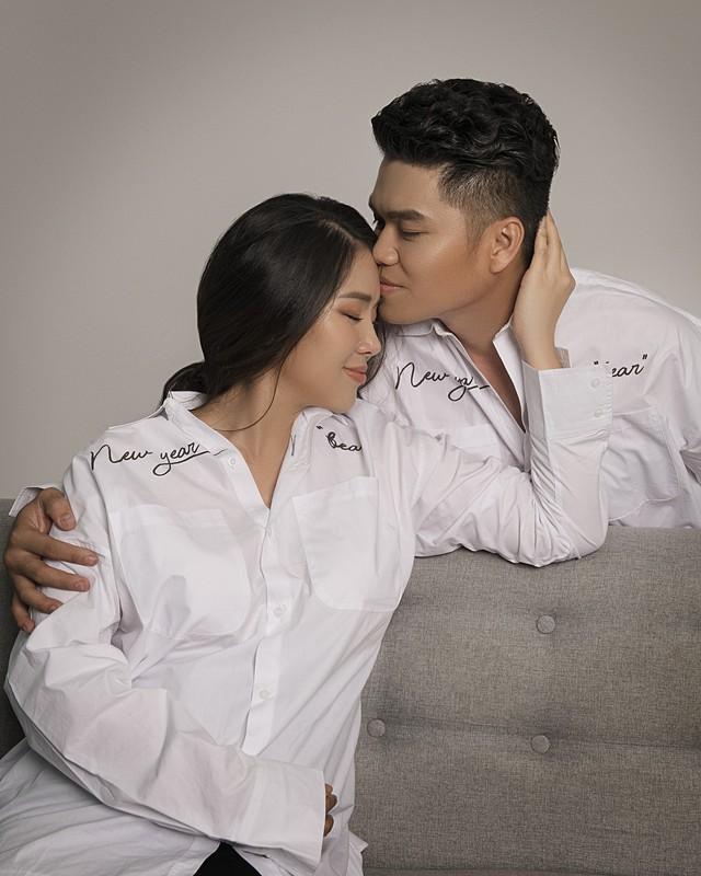 Hạnh phúc ngọt ngào của diễn viên Lê Phương. Ảnh: TL