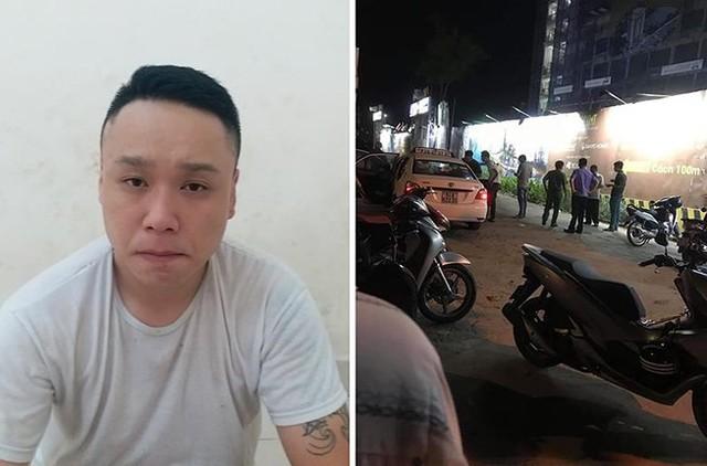 Đối tượng Huy bị bắt tại khách sạn sau 3 ngày lẩn trốn