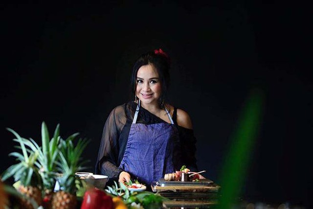 Thanh Lam có thể nấu được nhiều món từ món Việt, Âu, Á... và còn có sự sáng tạo của riêng mình.