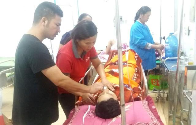 Hoàn cảnh gia đình em Quang hiện tại khó khăn, bố mất sớm và cần lắm những tấm lòng hảo tâm giúp đỡ. Ảnh: Đ.Tùy