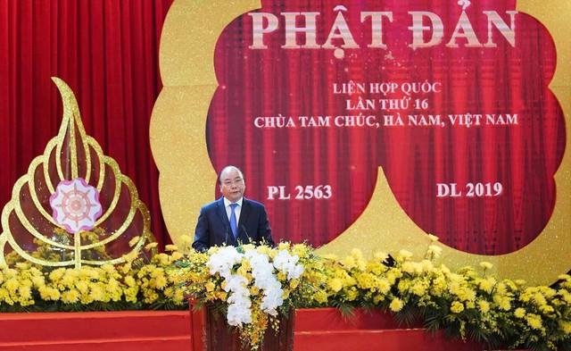 Thủ tướng Chính phủ Việt Nam Nguyễn Xuân Phúc phát biểu tại buổi lễ khai mạc