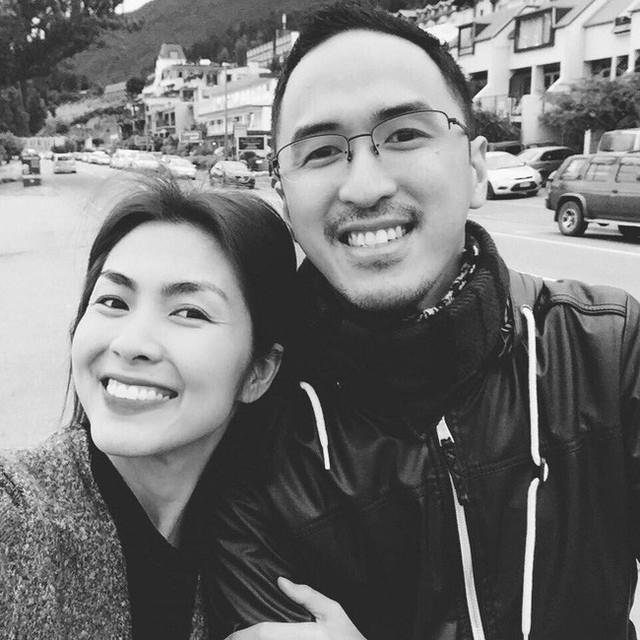 Trang cá nhân của Louis Nguyễn trên cả facebook và Instagram nhiều năm qua luôn để ảnh đại diện là hình hai vợ chồng.