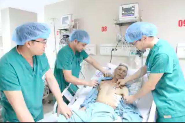 Sau phẫu thuật nội soi, ông Khối tiến triển sức khoẻ tốt.