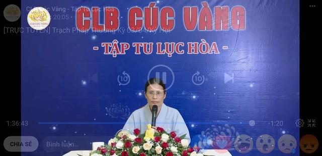 Bà Phạm Thị Yến trở lại đăng đàn thuyết giảng về Phật pháp ngày 7/5 lúc 20h05