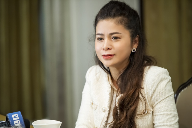 Bà Lê Hoàng Diệp Thảo cho biết đã gửi hồ sơ về nhóm thế lực muốn thâu tóm Trung Nguyên tới cơ quan chức năng.