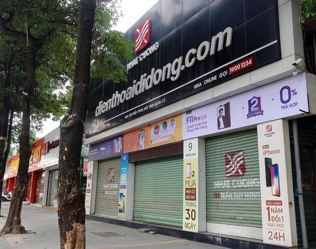 Tại địa chỉ số 9 Trần Duy Hưng cũng trong tình trạng cửa đóng then cài nhiều ngày nay.