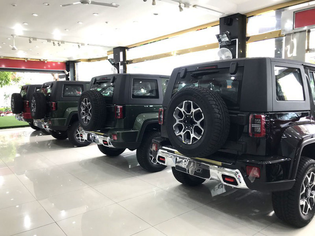 Những mẫu xe Trung Quốc mới dồn dập về Việt Nam