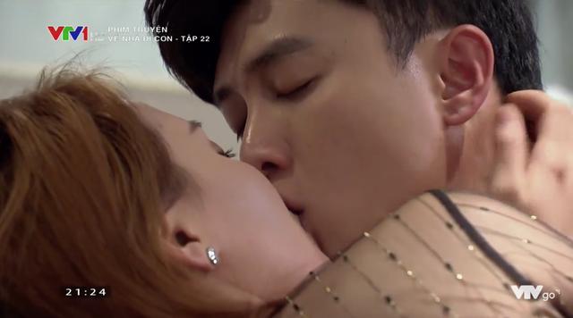 Bảo Thanh nói cô đã nhờ đoàn phim quay lại cảnh này gửi cho chồng xem trước.