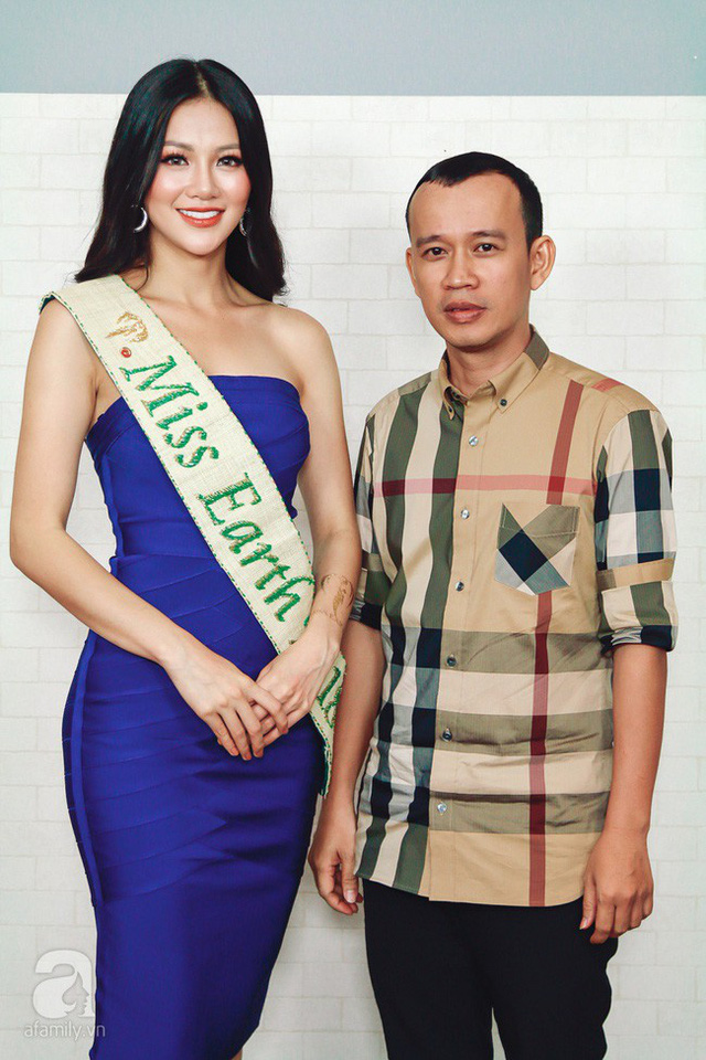 Ông bầu Phúc Nguyễn và Hoa hậu Trái đất Phương Khánh đã đường ai nấy đi ngay sau khi cuộc thi kết thúc
