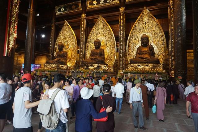 Công tác y tế tại Đại lễ Phật đản Vesak 2019 diễn ra tại Chùa Tam Chúc, Hà Nam đã được Bộ Y tế đảm bảo. ảnh Phương Thuận