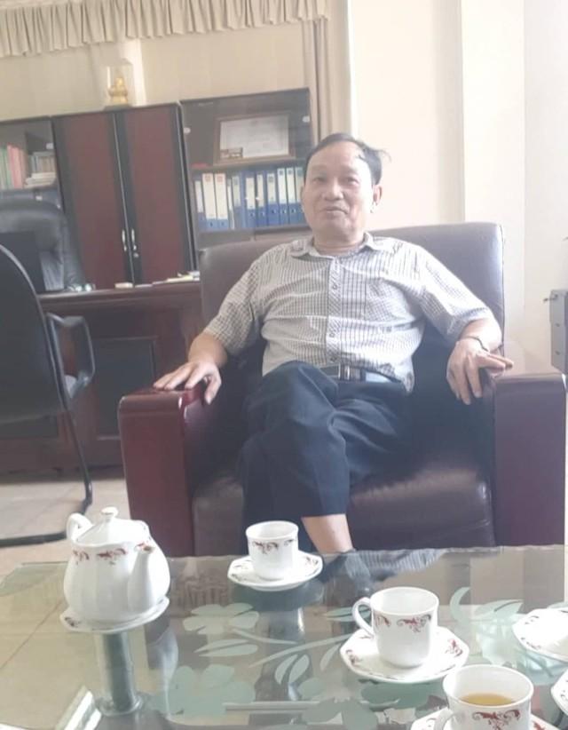 Ông Phạm Việt Hùng cho biết có thấy ông Hải mắng ông Đ.