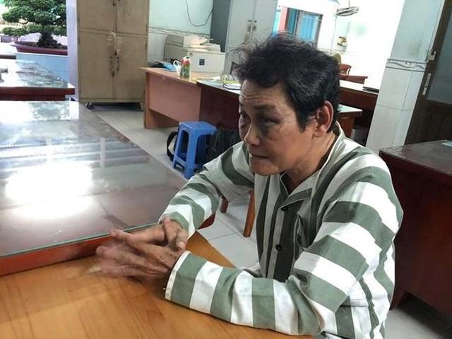 Ông An bị tạm giữ tại Công an quận Bình Tân.