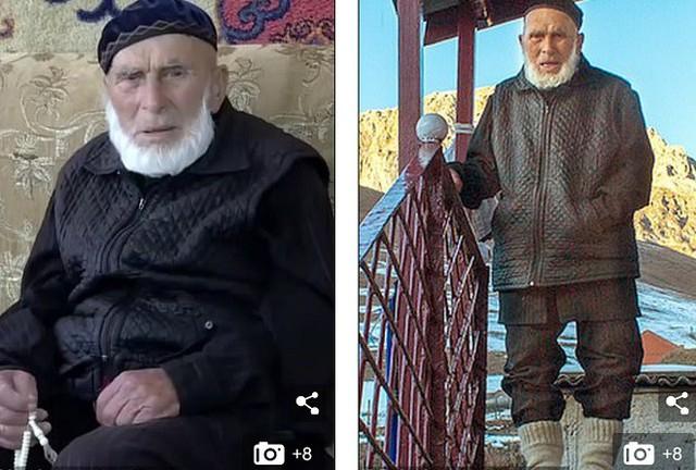 Cụ ông Appaz Iliev được cho là năm nay 122 tuổi.