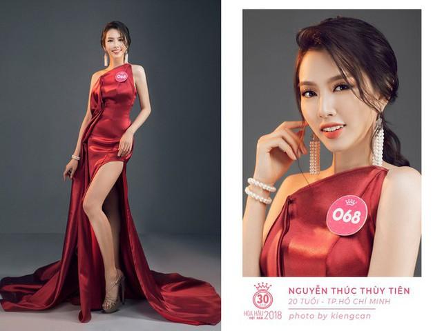 Thùy Tiên từng lọt vào Top 5 Hoa hậu Việt Nam 2018 và giành giải phụ Người đẹp nhân ái.