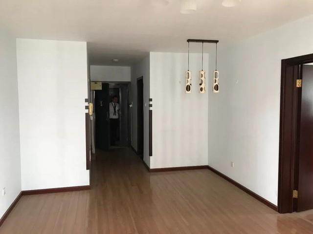 Không gian căn hộ trước khi cải tạo.