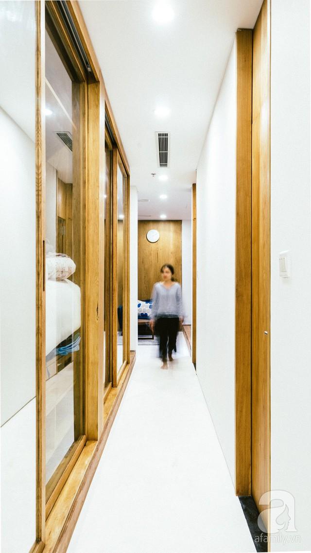 Giật cấp sàn là một trong những yếu tố làm nên sự mới lạ cho căn hộ.