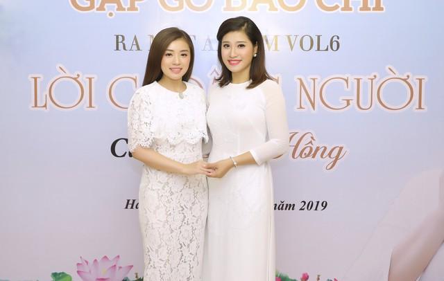 Bích Hồng và em gái Thu Hằng (Sao mai 2015)