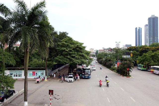 Đường Trần Duy Hưng, Nguyễn Chí Thanh, Trung Hòa... là những con đường trồng nhiều cây hoa sữa nhất Hà Nội. Dịp này, nhiều cây bất ngờ trổ bông khiến không ít người ngạc nhiên