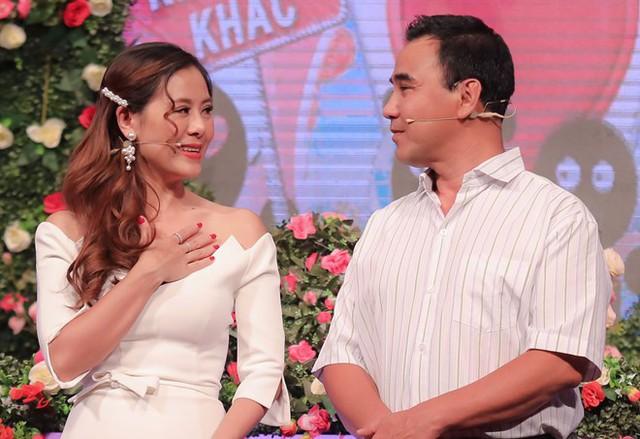 Nam Thư thay Cát Tường đứng cạnh Quyền Linh trong game hẹn hò