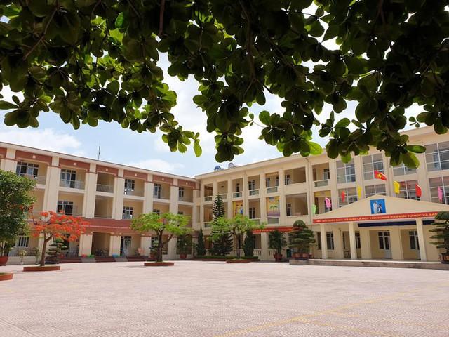 Trường Tiểu học Quán Toan đang trong tâm bão đánh học sinh. Ảnh: ML