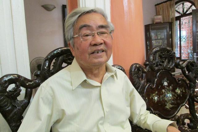 GS.VS Phạm Minh Hạc, nguyên Bộ trưởng Bộ GD&ĐT. Ảnh: Q.Anh