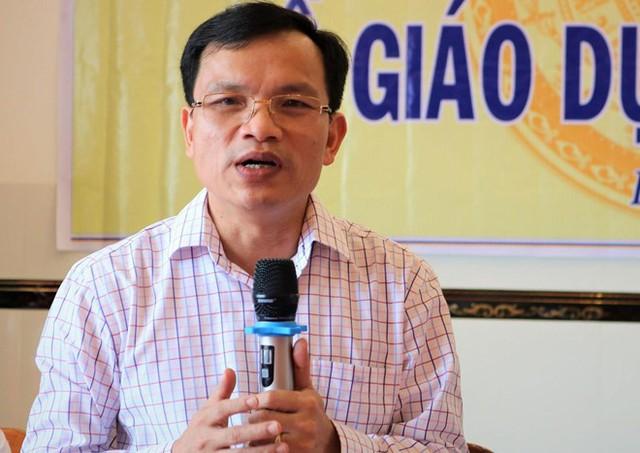 Ông Mai Văn Trinh cho rằng nhiều thí sinh chọn giáo dục nghề nghiệp là điều đáng mừng. Ảnh: M.N.