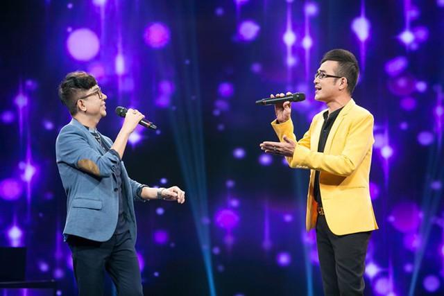 Ca sĩ Long Nhật (trái) và người tình âm nhạc - Vương Bảo Tuấn vừa qua đời vì ung thư trực tràng
