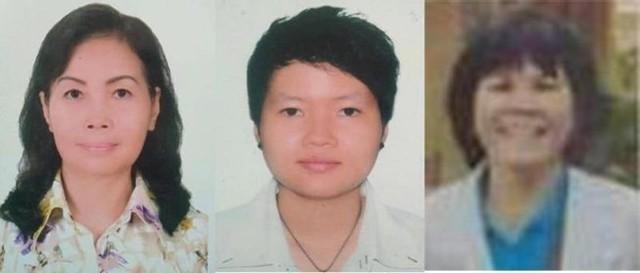 3 trong số 4 đối tượng bị công an bắt giữ.