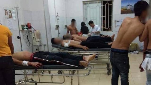 Sức khoẻ 8 nạn nhân bị thương ổn định nhưng chưa thể xuất viện.