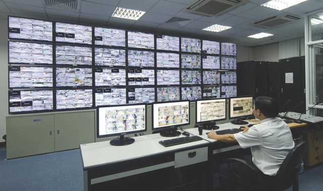 Hệ thống camera đa lớp thông minh giúp phát hiện tình huống xấu gửi về trung tâm an ninh để kịp thời xử lý