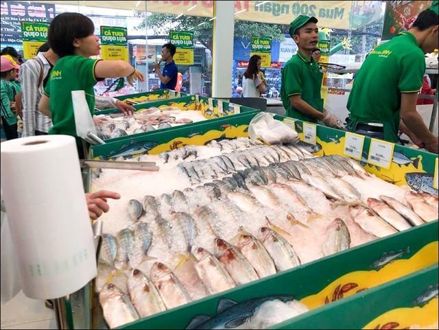 Nhờ mua tận gốc mà tháng 4 vừa qua, ngành hàng Cá lần đầu tiên có lợi nhuận.
