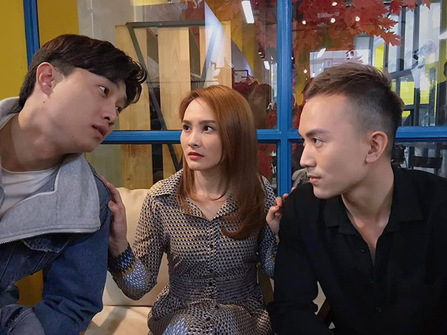 Quốc Trường, Bảo Thanh và Anh Vũ trong Về nhà đi con.
