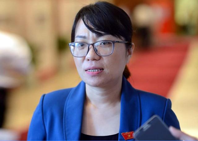 Đại biểu Nguyễn Thị Minh Hiền (đoàn Phú Yên). Ảnh: Zing.vn