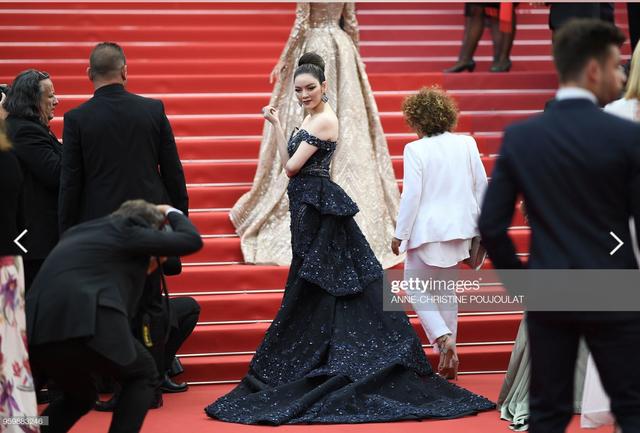 Hình ảnh Lý Nhã Kỳ những năm trước tại thảm đỏ Cannes