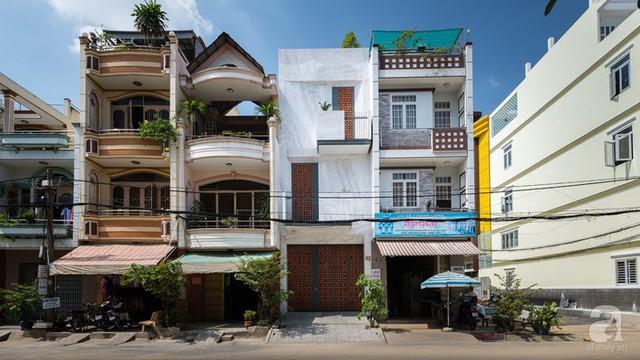 Ngôi nhà có kết cấu khác biệt với những nhà phố thông thường.