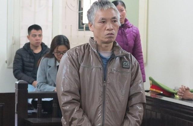 Đối tượng Tỉnh tại phiên xét xử sơ thẩm tháng 12/2018 (ảnh tư liệu)