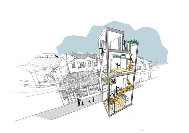 Ngôi nhà đã được nhiều trang web về kiến trúc hàng đầu thế giới như Archdaily, Dezeen giới thiệu.