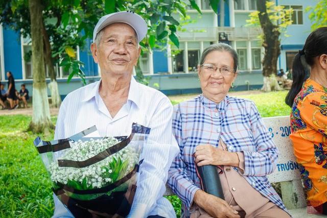Hai ông bà đã sống hạnh phúc bên nhau suốt 60 năm