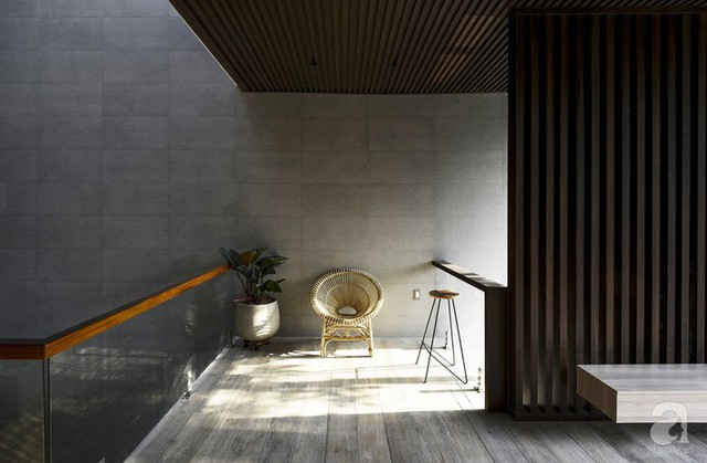Ánh sáng là một trong những yếu tố làm nên thành công của ngôi nhà.