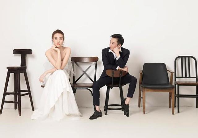 Bộ ảnh cưới giản dị đến khó tin của Cường Đô La và Đàm Thu Trang.