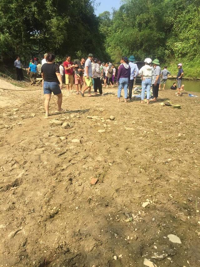 Con suối tại xã Quang Kim, huyện Bát Xát, tỉnh Lào Cai nơi xảy ra sự việc đau lòng.