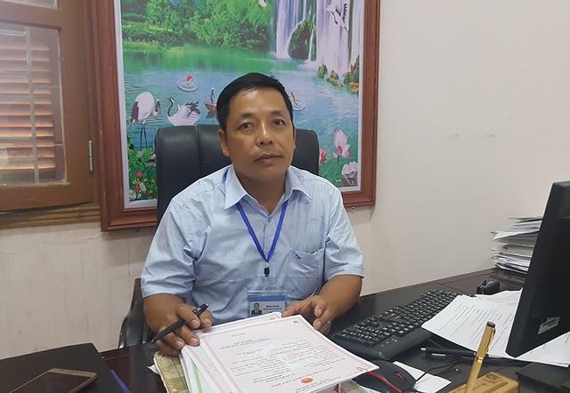 Ông Đinh Văn Ba - Phó chủ tịch UBND xã Lập Lễ, Thủy Nguyên, Hải Phòng.