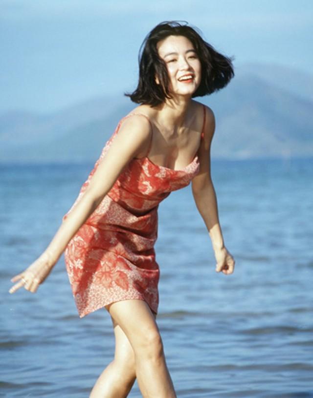 Bảng xếp hạng những mỹ nhân đẹp nhất màn ảnh Hoa ngữ 1980 - 1990 không bao giờ thiếu vắng tên của Lâm Thanh Hà. ẢNH: CHỤP MÀN HÌNH SINA