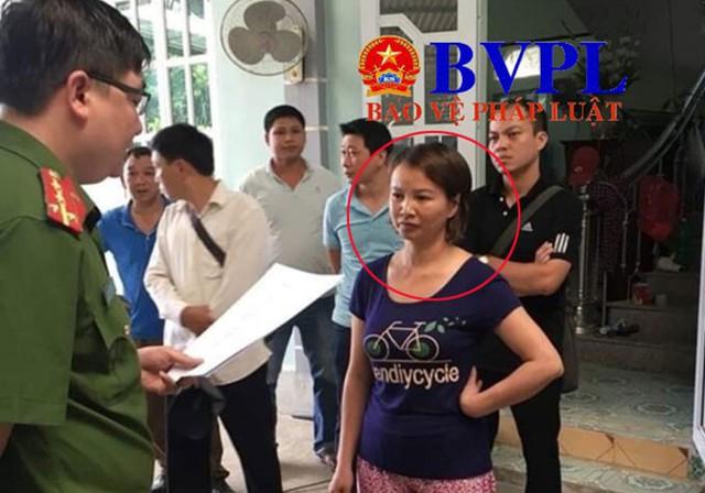 Tống đạt Quyết định khởi tố, Lệnh bắt tạm giam Trần Thị Hiền