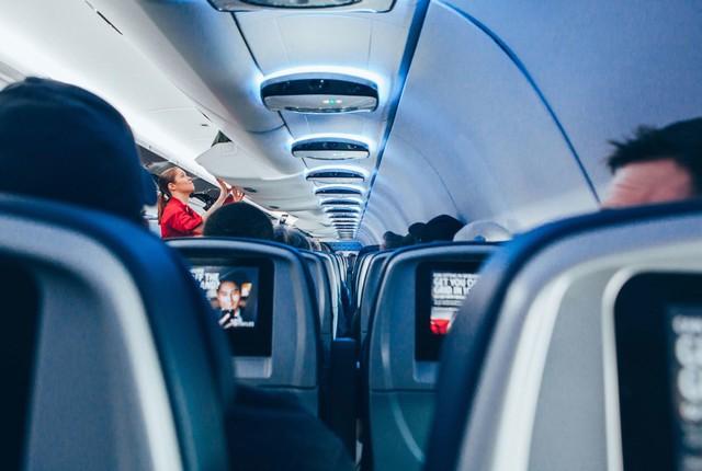 Nhiệt độ trong khoang hành khách thường ở khoảng 20-24 độ C