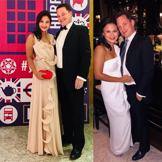 Rõ ràng, có sự khác biệt khá lớn về ngoại hình, đặc biệt là vòng hai của vợ mới chồng cũ Hồng Nhung sau 3 tháng kết hôn.