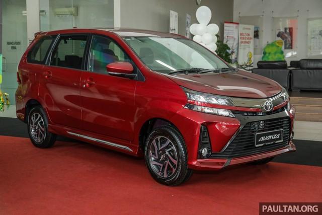 Toyota Avanza 2019 bản 1.5S tại Malaysia